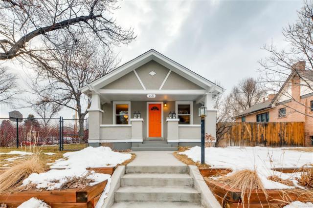 2121 S Humboldt Street, Denver, CO 80210 (#6146206) :: Bring Home Denver