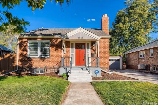 1418 Roslyn Street, Denver, CO 80220 (#6147729) :: James Crocker Team