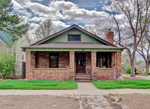 831 E Dale Street, Colorado Springs, CO 80903 (MLS #6150532) :: Stephanie Kolesar