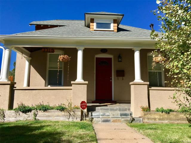 2219 S Sherman Street, Denver, CO 80210 (#6151237) :: The Pete Cook Home Group