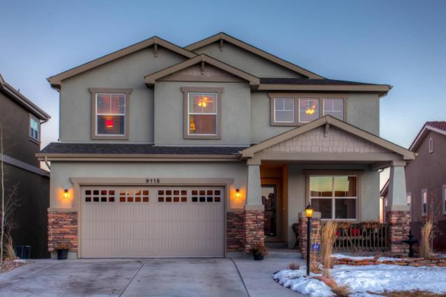 9115 Lizard Rock Trail, Colorado Springs, CO 80924 (#6154768) :: The Pete Cook Home Group