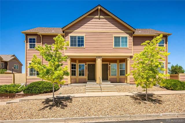 2387 Cutters Circle #101, Castle Rock, CO 80108 (MLS #6155538) :: 8z Real Estate