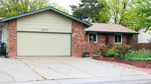 1537 Cambridge Drive, Longmont, CO 80503 (MLS #6155588) :: 8z Real Estate