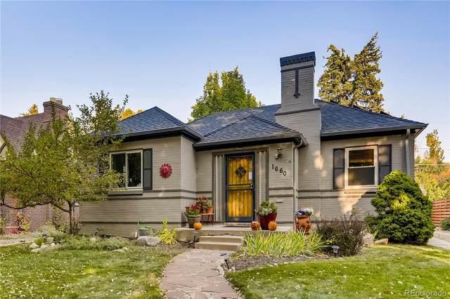 1660 Oneida Street, Denver, CO 80220 (#6156086) :: The HomeSmiths Team - Keller Williams