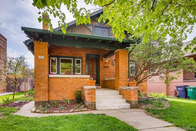 1427 Garfield Street, Denver, CO 80206 (#6156188) :: Briggs American Properties