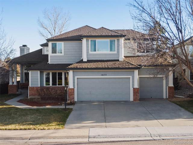 16172 Parkside Drive, Parker, CO 80134 (#6158414) :: My Home Team