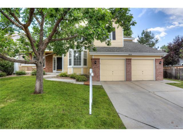 800 Huntington Drive, Highlands Ranch, CO 80126 (MLS #6158641) :: 8z Real Estate