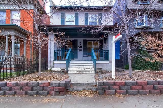 1736 Washington Street, Denver, CO 80203 (#6163888) :: Own-Sweethome Team