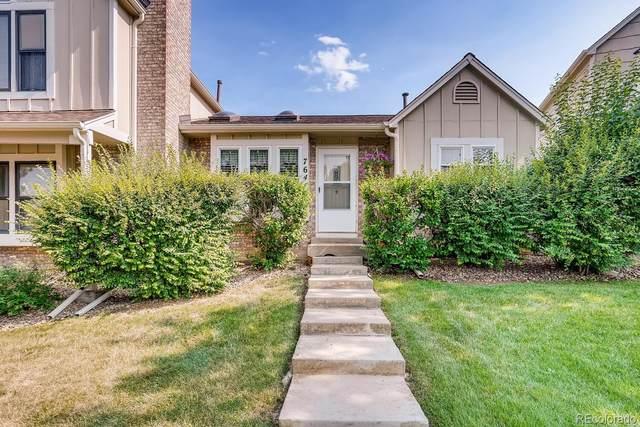 7641 S Steele Street, Centennial, CO 80122 (#6167937) :: Finch & Gable Real Estate Co.
