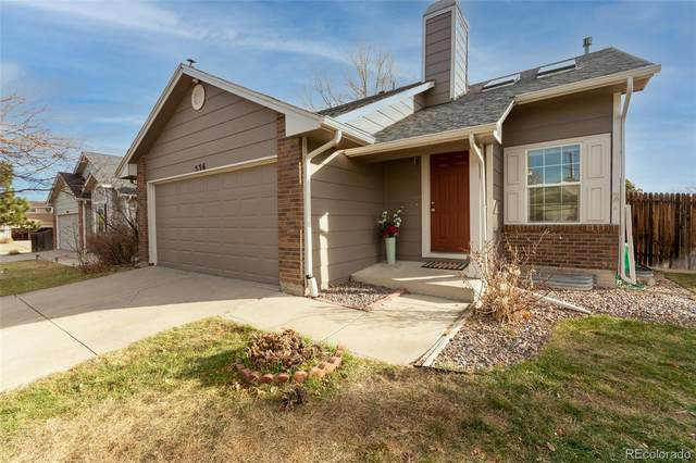 536 Howe Street, Castle Rock, CO 80104 (#6169427) :: Chateaux Realty Group