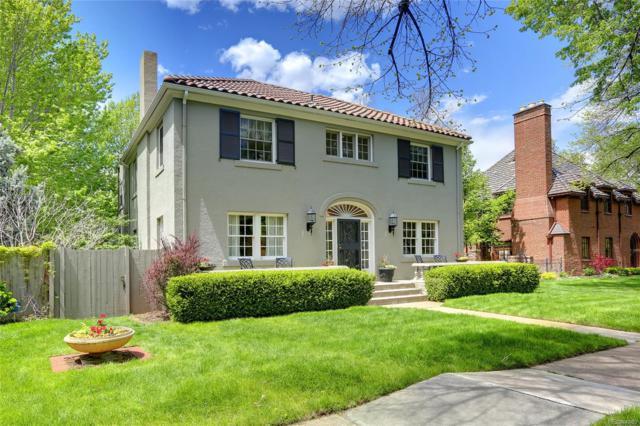 121 N Marion Street, Denver, CO 80218 (MLS #6172247) :: 8z Real Estate