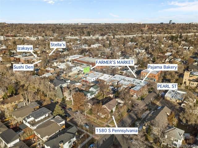 1580 S Pennsylvania Street, Denver, CO 80210 (#6177422) :: The Healey Group