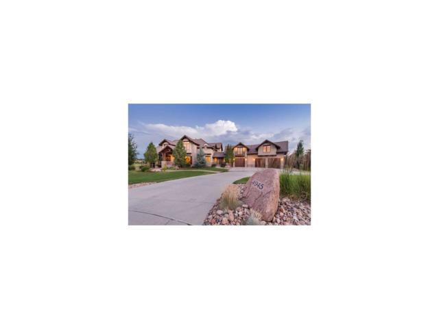 4945 Caballo Place, Parker, CO 80134 (MLS #6181968) :: 8z Real Estate