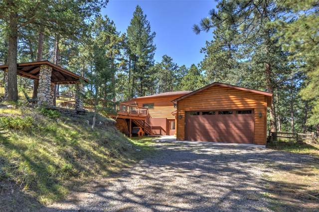 4990 White House Trail, Evergreen, CO 80439 (#6185913) :: The Heyl Group at Keller Williams