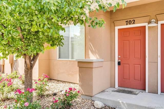 9300 E Florida Avenue #702, Denver, CO 80247 (#6185951) :: Finch & Gable Real Estate Co.