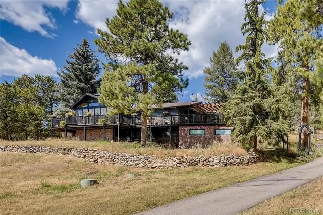 13716 Wamblee Trail, Conifer, CO 80433 (#6187380) :: The HomeSmiths Team - Keller Williams