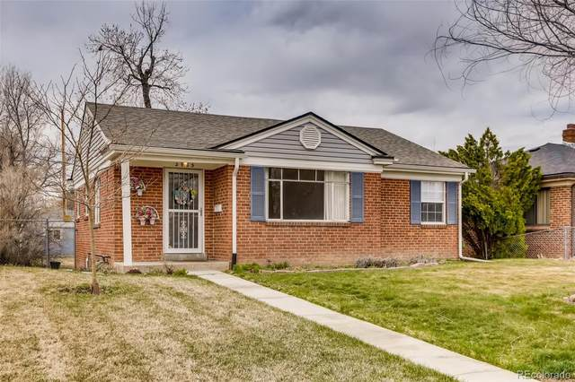 2965 Fairfax Street, Denver, CO 80207 (#6192856) :: The Dixon Group