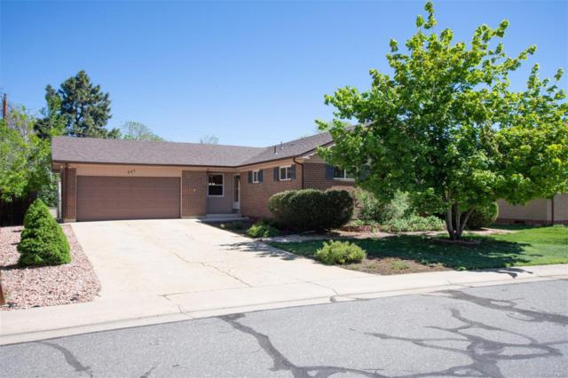 945 E 108th Avenue, Northglenn, CO 80233 (MLS #6196925) :: 8z Real Estate