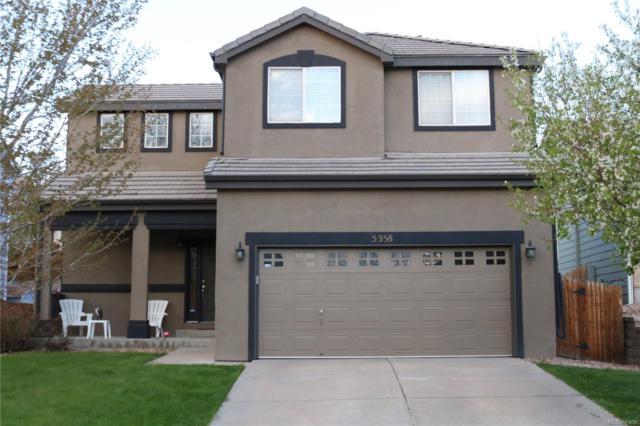 5358 S Shawnee Street, Aurora, CO 80015 (#6197719) :: The DeGrood Team