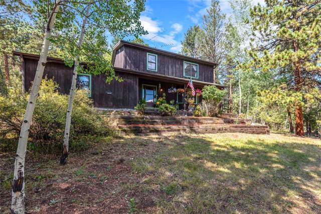 13713 S Wamblee Valley Road, Conifer, CO 80433 (MLS #6201374) :: 8z Real Estate