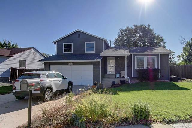 17574 E Bellewood Circle, Aurora, CO 80015 (#6205386) :: James Crocker Team