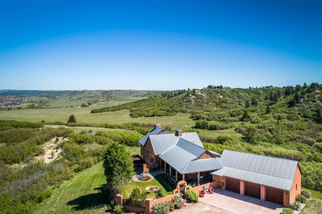 3881 Stone Canon Ranch Road, Castle Rock, CO 80104 (MLS #6205892) :: 8z Real Estate
