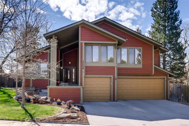 17758 E Crestridge Place, Centennial, CO 80015 (#6206862) :: House Hunters Colorado