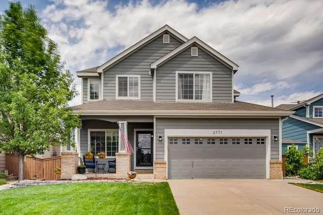 2771 High Cliffe Place, Highlands Ranch, CO 80129 (#6209466) :: Kimberly Austin Properties