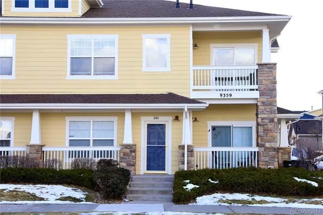 9359 Amison Circle #201, Parker, CO 80134 (MLS #6210237) :: 8z Real Estate