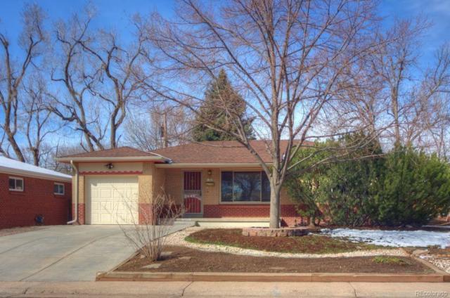 1345 S Eaton Street, Lakewood, CO 80232 (#6211300) :: The Peak Properties Group