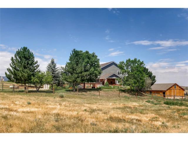 134 Sly Fox Way, Sedalia, CO 80135 (MLS #6217964) :: 8z Real Estate