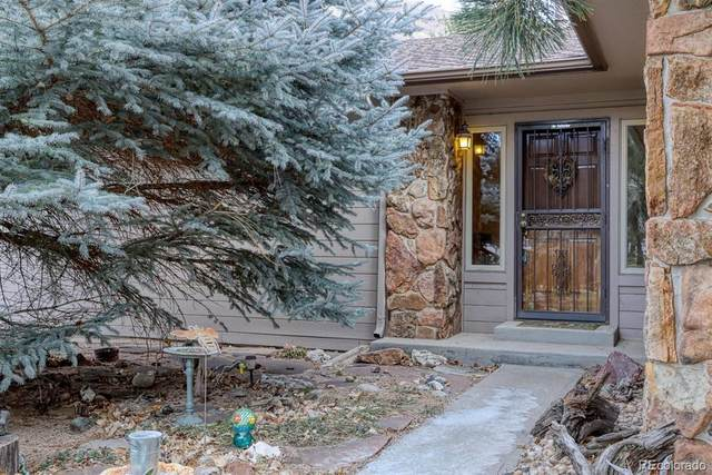 841 Meadow Run, Golden, CO 80403 (#6219472) :: Chateaux Realty Group