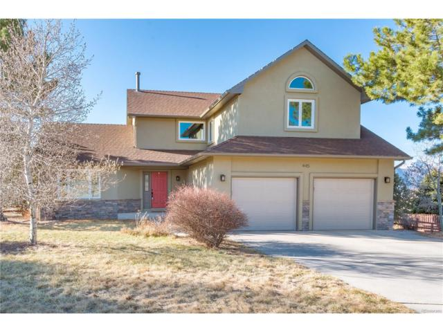 445 Rangely Drive, Colorado Springs, CO 80921 (MLS #6222215) :: 8z Real Estate