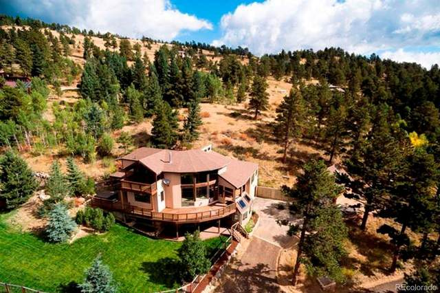 10 Timberline Drive, Nederland, CO 80466 (#6222279) :: The DeGrood Team