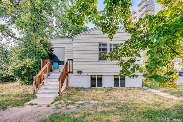 3883 E Montana Place, Denver, CO 80210 (#6222498) :: Signature Realty, Inc.