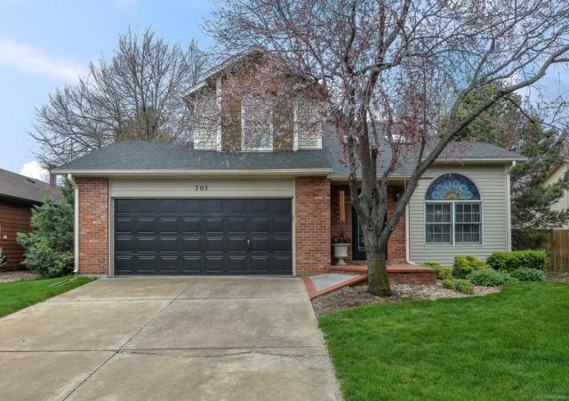 707 Arbor Avenue, Fort Collins, CO 80526 (#6223311) :: The Griffith Home Team