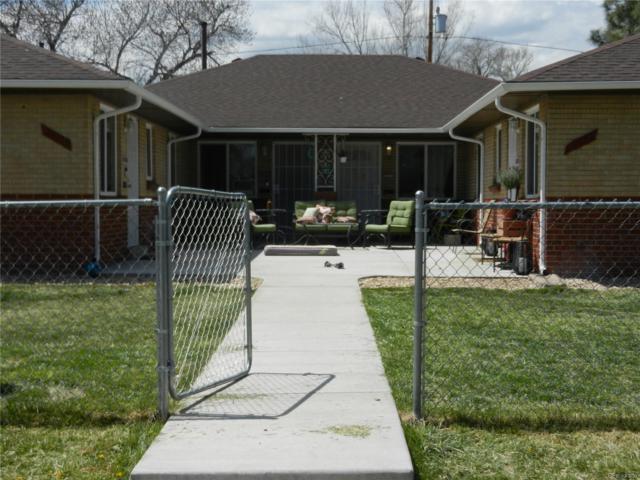 3553 Leyden Street, Denver, CO 80207 (#6223882) :: The Peak Properties Group