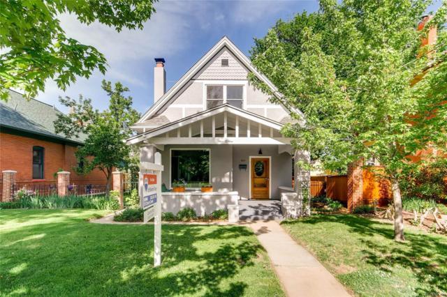 909 S Clarkson Street, Denver, CO 80209 (#6228313) :: House Hunters Colorado
