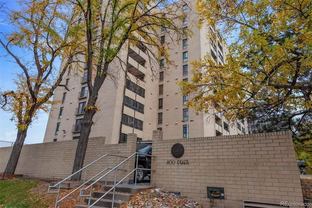 800 Pearl Street #1105, Denver, CO 80203 (#6230257) :: The Gilbert Group