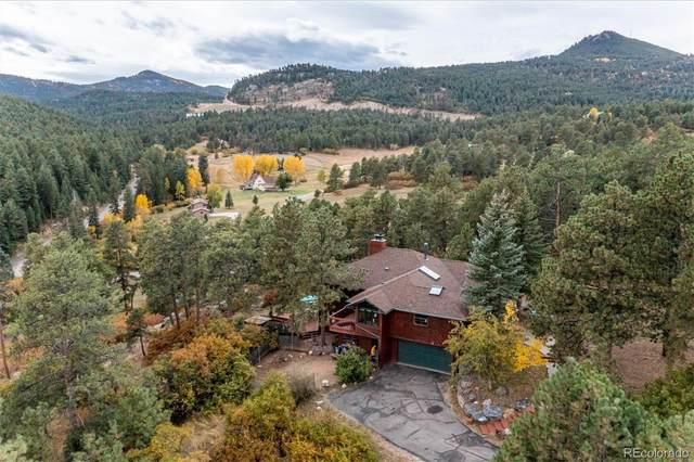 20096 Flint Lane, Morrison, CO 80465 (#6230314) :: The Colorado Foothills Team | Berkshire Hathaway Elevated Living Real Estate