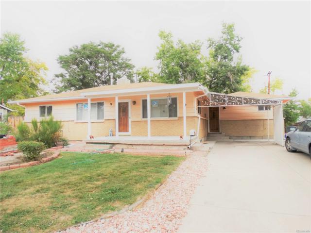 7525 W Oregon Drive, Lakewood, CO 80232 (#6233356) :: The Peak Properties Group