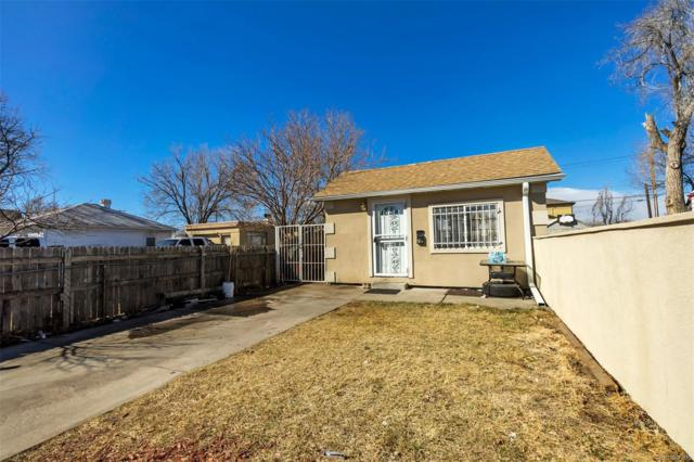 341 S Quitman Street, Denver, CO 80219 (#6237864) :: The DeGrood Team
