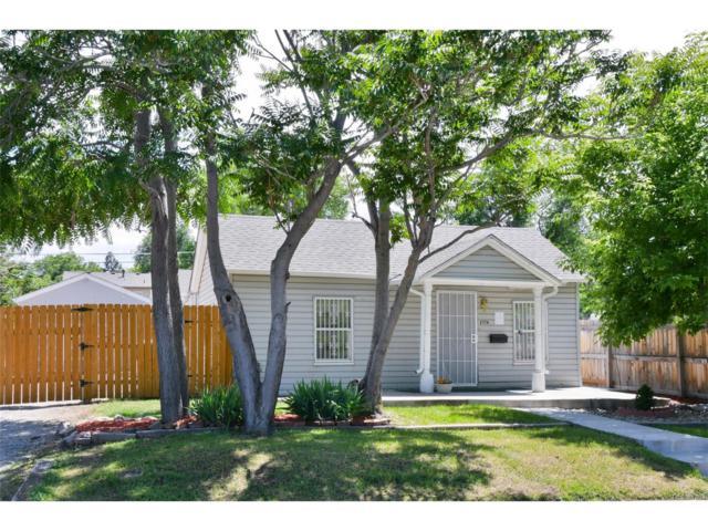 2774 W Irvington Place, Denver, CO 80219 (MLS #6242600) :: 8z Real Estate