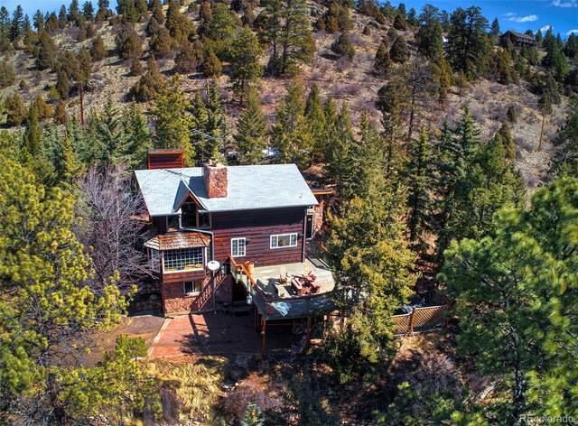 13816 Wamblee Trail, Conifer, CO 80433 (#6246228) :: The Dixon Group