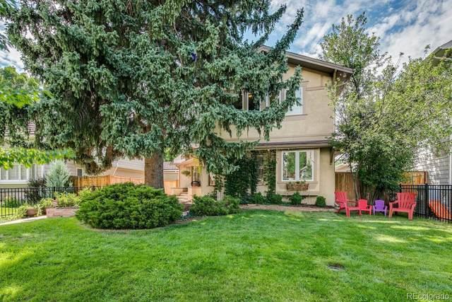 1421 S Steele Street, Denver, CO 80210 (#6246699) :: The Griffith Home Team