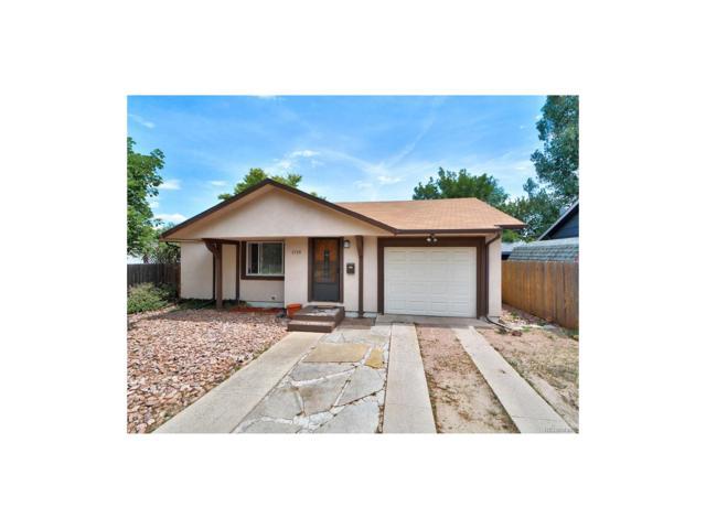1719 Holmes Drive, Colorado Springs, CO 80909 (MLS #6247222) :: 8z Real Estate