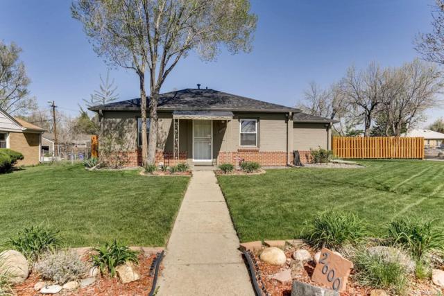 2600 Olive Street, Denver, CO 80207 (#6247571) :: The Galo Garrido Group