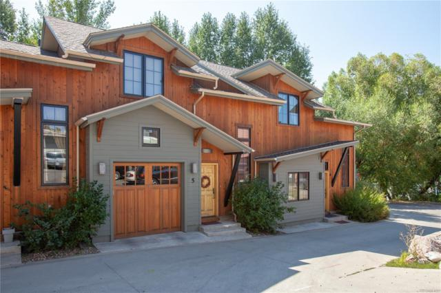 45 6th Street - #5, Steamboat Springs, CO 80487 (#6248912) :: The Heyl Group at Keller Williams