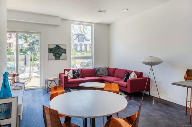 2525 Arapahoe Street D204, Denver, CO 80205 (#6250219) :: The Pete Cook Home Group