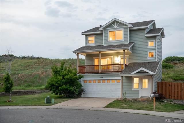 740 Entrada Drive, Golden, CO 80401 (#6250959) :: Finch & Gable Real Estate Co.